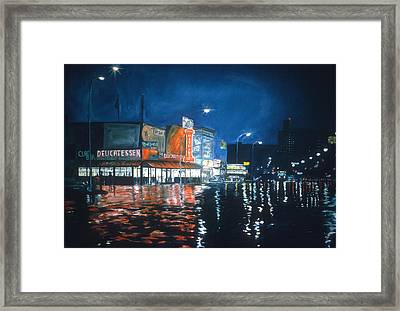 Coney Island Framed Print by Anthony Butera