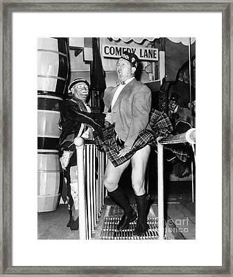 Coney Island Fun House Framed Print by Granger