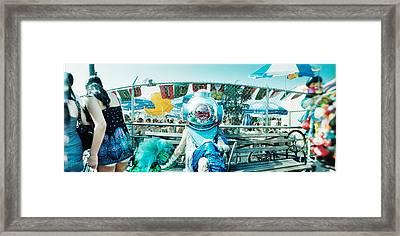 Coney Island Mermaid Parade, Coney Framed Print