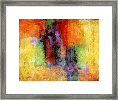 Confection Framed Print