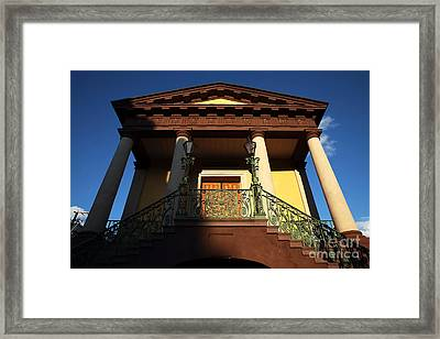 Confederate Museum Framed Print by John Rizzuto