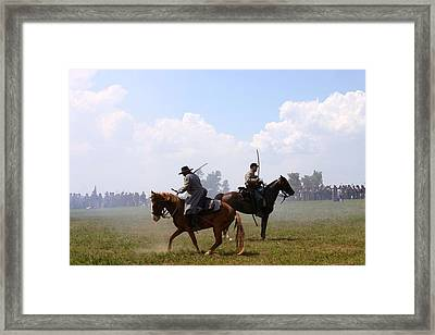 Confederate Victory - Richmond Ky Framed Print by Thia Stover