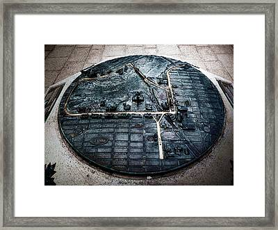 Confederation Boulevard Framed Print by Zinvolle Art