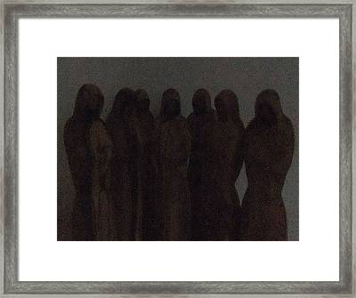Conference Framed Print by Eric Kempson