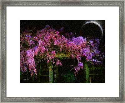 Confetti Of Blossoms Framed Print by RC deWinter
