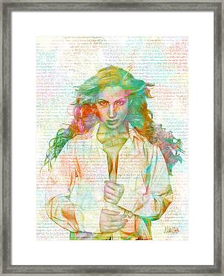 Confidence Is Sexy Framed Print by Nikki Marie Smith
