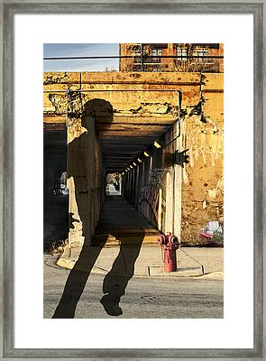 Confidence Leap Framed Print