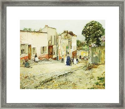 Confirmation Day Framed Print by Childe Hassam