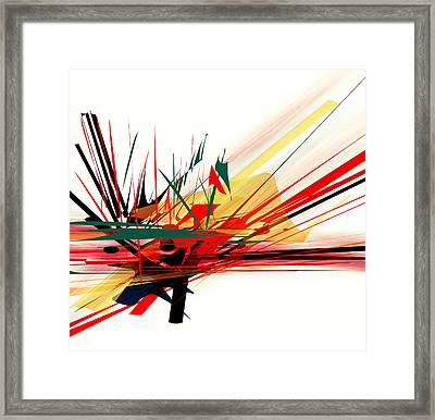 Conflict 1 Framed Print by Andrew Penman