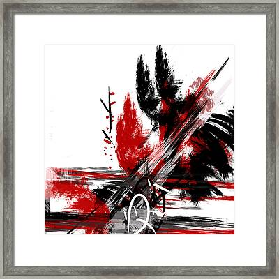 Conflict 2 Framed Print by Andrew Penman