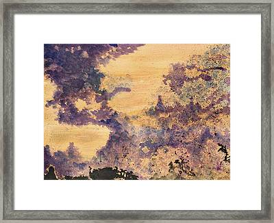 Conflict And Harmony Framed Print