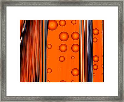Conflict Of Interest Framed Print by Wendy J St Christopher