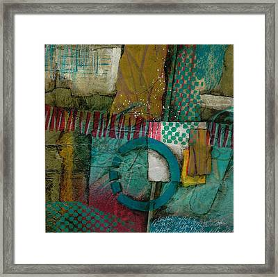 Conflict Of Space And Time Framed Print by Laura  Lein-Svencner