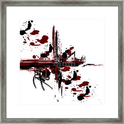Conflict3 Framed Print by Andrew Penman
