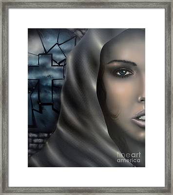 Conflicted Framed Print by Todd Warren