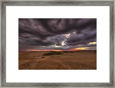Confliction Framed Print