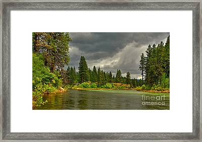 Framed Print featuring the photograph Confluence by Sam Rosen
