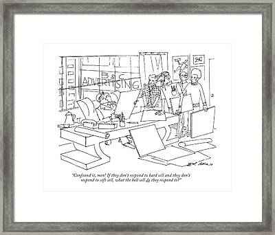 Confound Framed Print