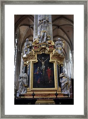 Confrerie Notre Dame Du Puy Framed Print