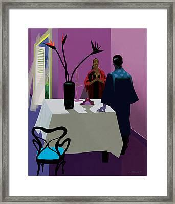 Confrontation Framed Print