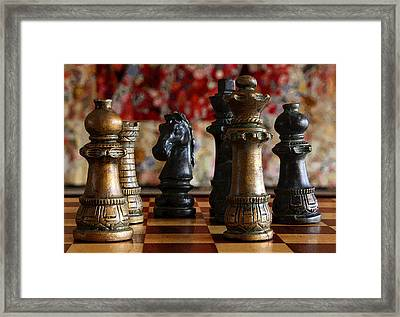 Confrontation Framed Print by Joe Kozlowski