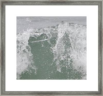 Confused Water Framed Print by Kiros Berhane