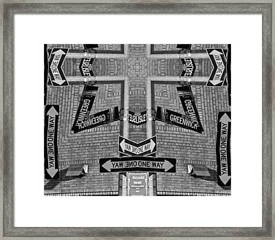 Confusion Framed Print by Dan Sproul