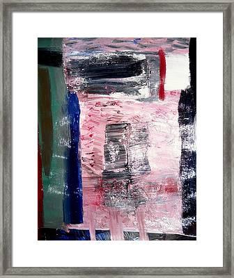Confusion Framed Print by Fatiha Boudar