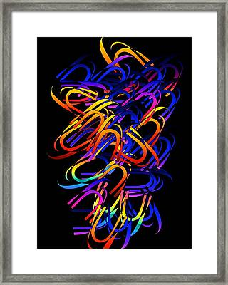 Framed Print featuring the digital art Confusion by Gayle Price Thomas