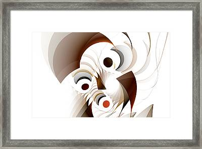 Confusion Framed Print by GJ Blackman