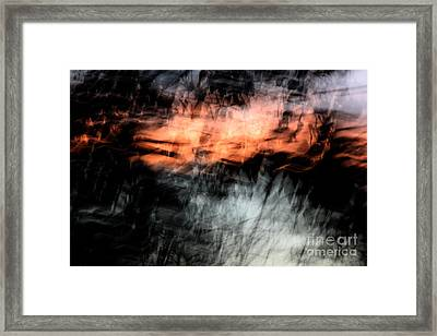 Confusion Framed Print by Jessica Shelton