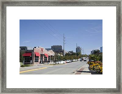 Congaree Vista District In Columbia South Carolina Framed Print