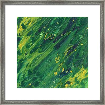 Conglomerated Concoction Framed Print