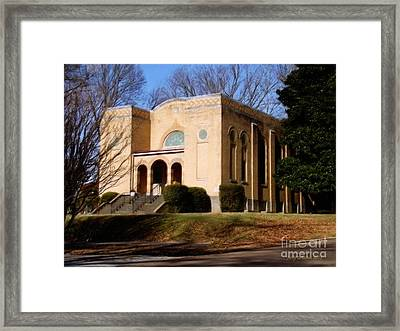 Congregation B'nai Isreal  Framed Print by Jerry Grissom