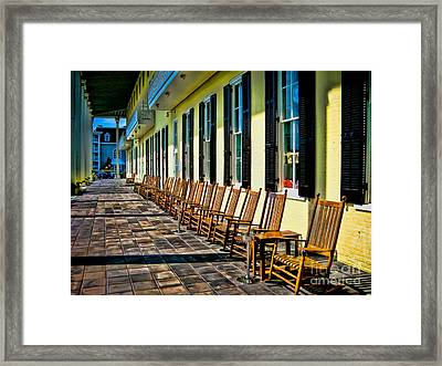 Congress Hall Rockers Framed Print