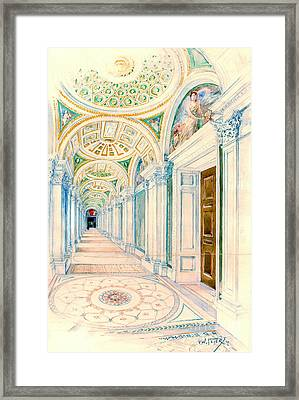 Congressional Library Washington Dc 1897 Framed Print by Padre Art
