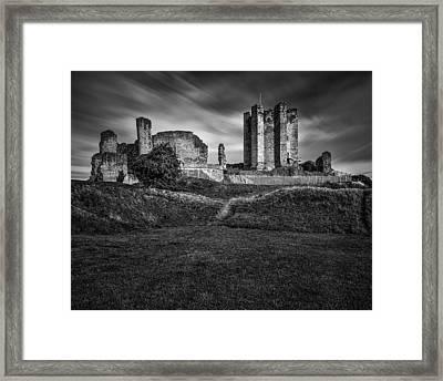 Conisbrough Castle Doncaster Framed Print by Ian Barber
