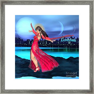 Conjunction Framed Print