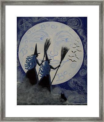 Conjuring Constellations Framed Print by Christine Altmann