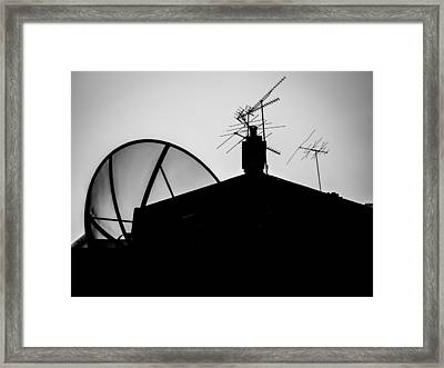 Connected Framed Print by Kaleidoscopik Photography