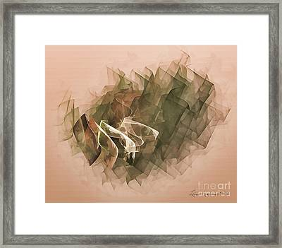 Connected Framed Print by Leona Arsenault