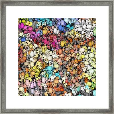 Connected-ness Framed Print