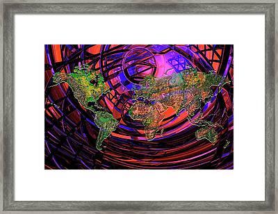 Connected World Framed Print by Carol & Mike Werner
