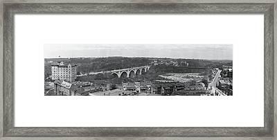 Connecticut Ave Bridge Washington Dc Framed Print