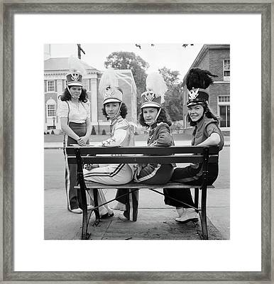 Connecticut Drum Corps Framed Print by Granger