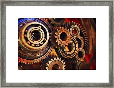 Connection Framed Print by Maria Angelica Maira