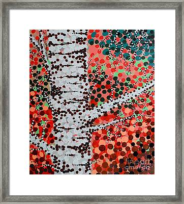 Connections Framed Print by Alan Hogan
