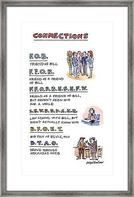 Connections: Framed Print