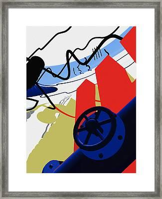 Connections Framed Print by Richard Rizzo