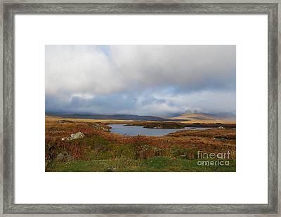 Connemara Bog Road Framed Print